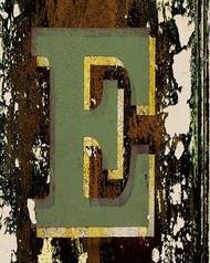 Art Classics Letter E