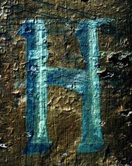 Art Classics Letter H