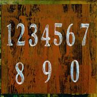 Art Classics Numbers on Orange