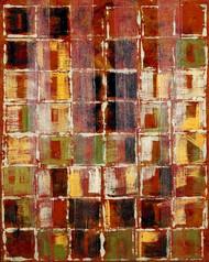 Art Classics Square Study in Red 1