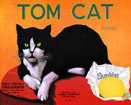 Art Classics Tom Cat: Sunkist Lemon Crate