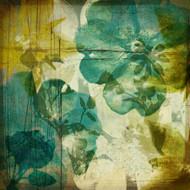 Art Classics Vintage Teal Blooms I