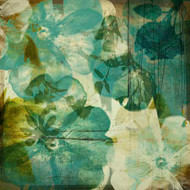 Art Classics Vintage Teal Blooms II