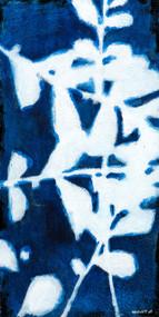 Art Classics White on Indigo I