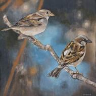 Art Classics Resting Sparrows II
