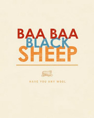 Art Classics Baa, Baa Black Sheep