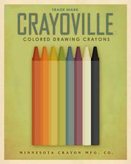 Art Classics Crayoville Green
