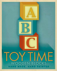 Art Classics Toy Time Blue