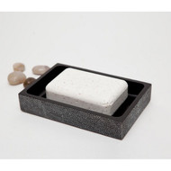 Pigeon & Poodle Manchester Soap Dish - Grey