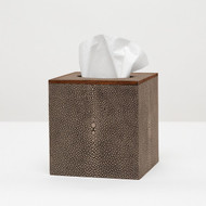 Pigeon & Poodle Manchester Tissue Box - Mushroom
