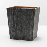Pigeon & Poodle Bruges Waste Basket Rectangulahttps://cdn3.bigcommerce.com/s-nzzxy311bx/product_images//r/ Tapered - Charcoal - Rectangular