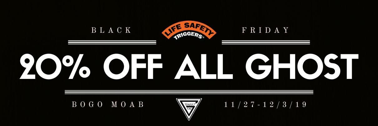 Ghost Inc Black Friday Sale