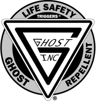 GHOST REPELLENT OUTDOOR STICKER
