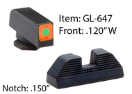 GL647 - Orange Glock Spaulding Sets for G42/43/43X & 48