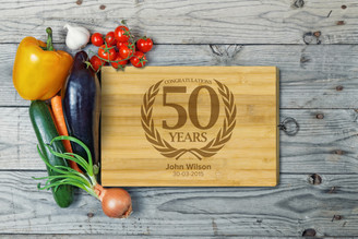 Personalised Chopping Board Standard - Birthday - Laurel