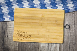 Personalised Chopping Board Standard - My Kitchen - Corner