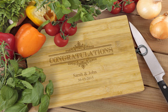 Personalised Chopping Board Standard - Congratulations