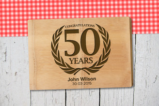 Personalised Chopping Board Premium - Birthday - Laurel