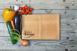 Personalised Chopping Board Premium - My Kitchen - Corner