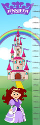 Growth Chart - Castle & Princess
