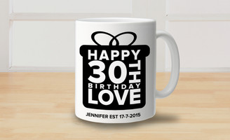 Mug - Bus Blind - 30th Birthday