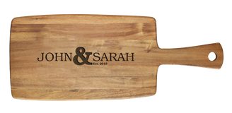 Personalised Cheese Board - Names