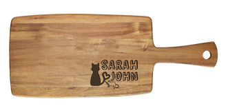Personalised Cheese Board - Cat