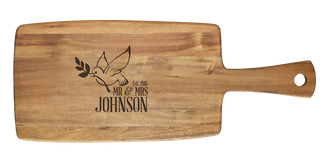 Personalised Cheese Board - Dove