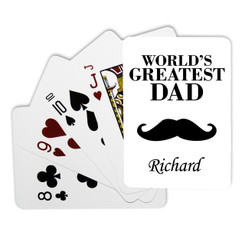 Personalised Playing Cards - Greatest Dad