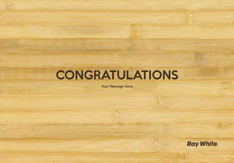 Personalised Chopping Board Standard - Ray White