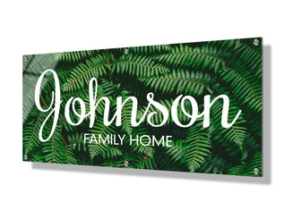 Business sign 30x60cm - Ferns