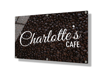 Business sign 50x75cm - Coffee beans