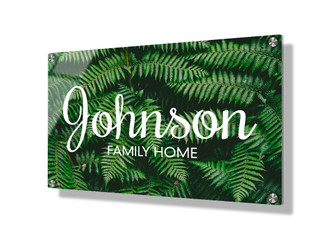 Business sign 20x30cm - Ferns
