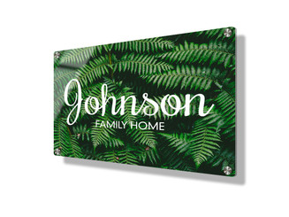 Business sign 15x20cm - Ferns