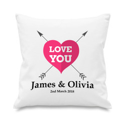 Cushion cover - Heart