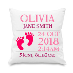Cushion cover - New Arrival Feet - Pink