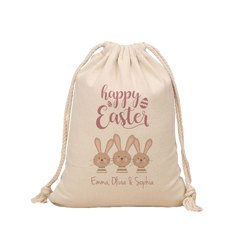 Easter Hunt Sack - Happy Easter