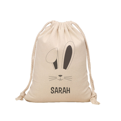 Easter Hunt Sack - Rabbit Face