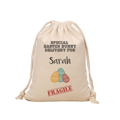 Easter Hunt Sack - Special Delivery
