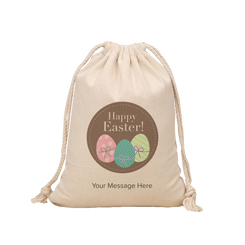 Easter Hunt Sack - Happy