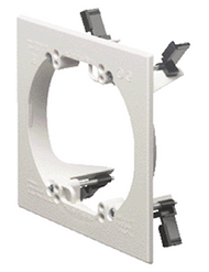 Double Gang Low Voltage Mounting Device Bracket Round Hole (LV2RP)