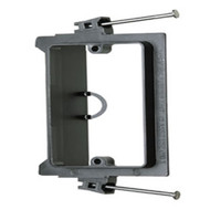 Single Gang Low Voltage Nail-In Mounting Device Bracket (LVN1)