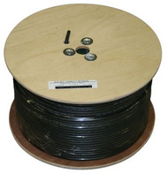 RG-6 Direct Burial Coax Cable (1000FT. Wood Reel)