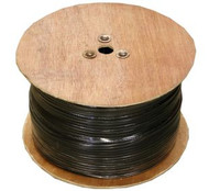 RG-6 Quad Shield Coaxial Cable- 1000FT Reel (6Q)