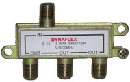 Basic 3 Way 1GHz Cable Splitter (S-13)