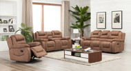Athens 6 Seater Recliner in Mocha
