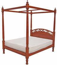Wasini Poster Bed - Queen