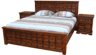 Panel Bed - King - OUT OF STOCK
