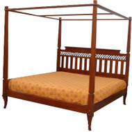 Manila Poster Bed - Queen