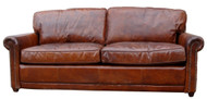 Hemmingway Sofa in Leather Vintage Cigar